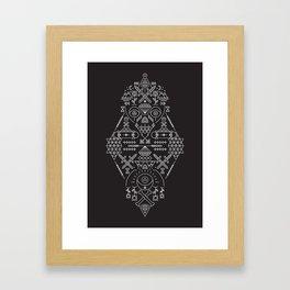 SIMETRIA - I Framed Art Print