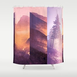 Fraction Shower Curtain