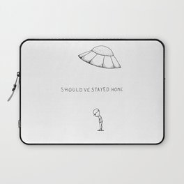 Should've Stayed Home Laptop Sleeve