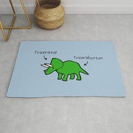 Triceratops Tricerabottom Rug