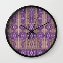 Linear Arrangements of Colorful Secure Lockers Wall Clock