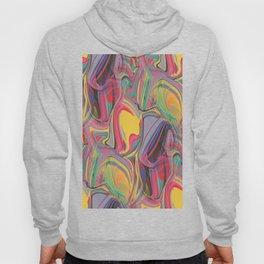 trippy boho hippie colorful rainbow swirls abstract Hoody