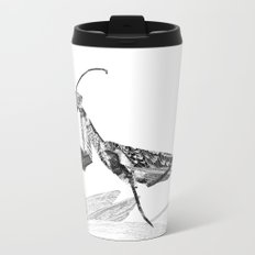 Praying Mantis Metal Travel Mug