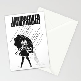 Jawbreaker Girl with umbrella Stationery Cards