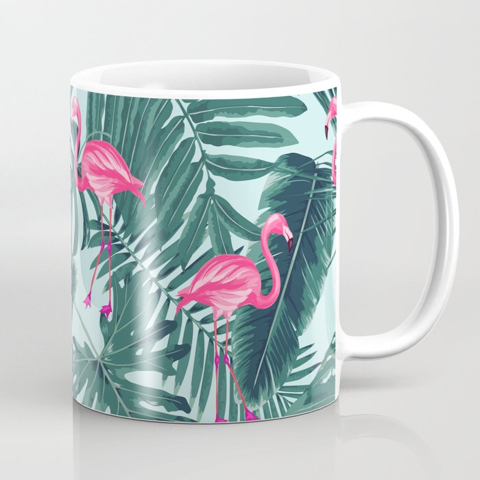 Tropical Pink Flamingo Coffee Mug