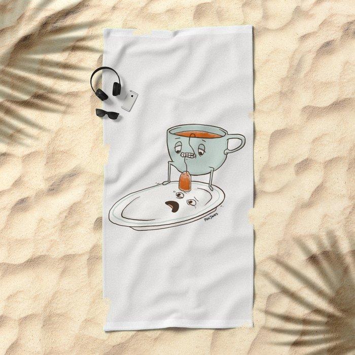 Tea Baggin' Beach Towel
