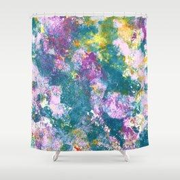 Pansy Flower Garden Shower Curtain