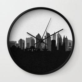 City Skylines: Jakarta Wall Clock