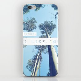 Dear Nature, iPhone Skin