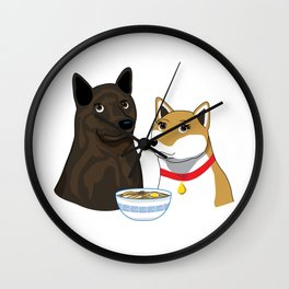 Ramen Date Wall Clock