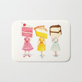 Cake Head Pin-Ups Bath Mat