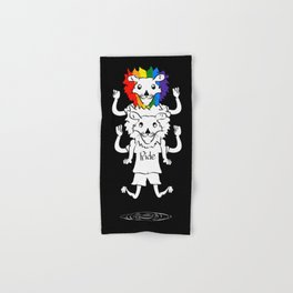 Gay Pride Lions Hand & Bath Towel