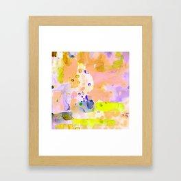 Flamingo Neon Framed Art Print