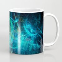 holographic Mugs featuring Holographic Chaos by noistromo