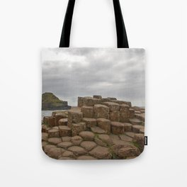 Giant's Causeway stones Tote Bag