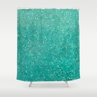inspiration Shower Curtains featuring Inspiration by icydorTM
