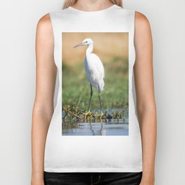 Fishing bird Biker Tank