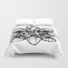 Bound: Hearts Duvet Cover