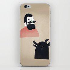 talk to me, wolf! iPhone & iPod Skin