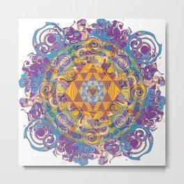 Actualize Sri yantra Metal Print