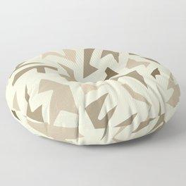 SEPIA JIG JAG Floor Pillow