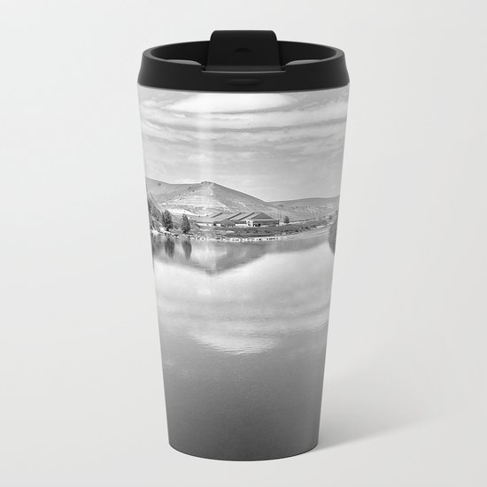 View From The Bridge Metal Travel Mug