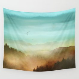 Autumn Flight Wall Tapestry