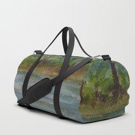 A Storm on the Pond MM151209e Duffle Bag