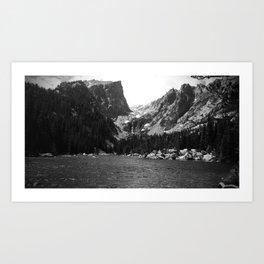 Dream Lake, Rocky Mountains, CO Art Print