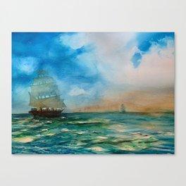 Tallships Canvas Print