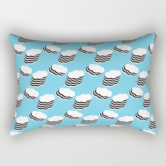 Layered clouds Rectangular Pillow