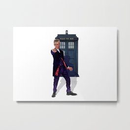 12th Doctor Metal Print