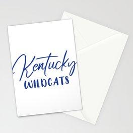 Kentucky Wildcats Basketball Stationery Cards