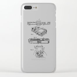 Gameboy Patent Clear iPhone Case