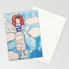 Sky Girl Stationery Cards