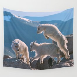 Kids by Lena Owens/OLena Art Wall Tapestry