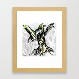 Let Your Roots Guide You Framed Art Print