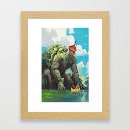 La Tour de Tarascon Framed Art Print