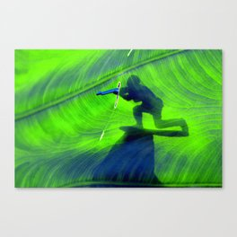 Toy Soldier Sniper Canvas Print