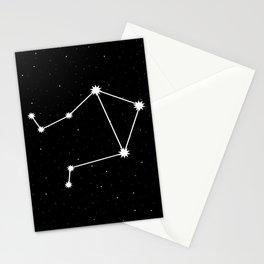 Libra Star Sign Night Sky Stationery Cards