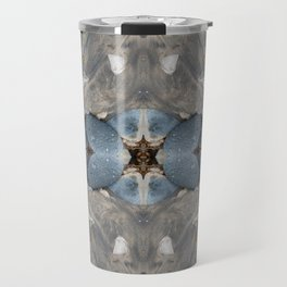The Hidden Star Of David (Mandala-esque #42b) Travel Mug