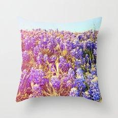 Bluebonnets! Throw Pillow