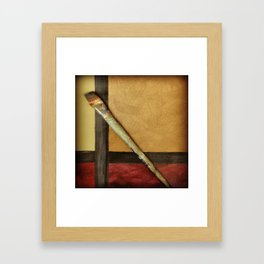 Artist Brush 2 Canvas Art Print Framed Art Print