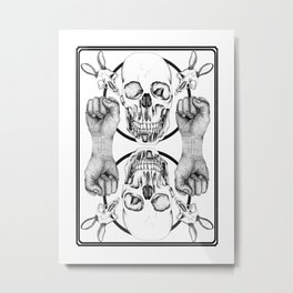 Skulls and Such Metal Print