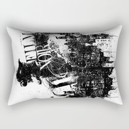 Like a Film Noir Rectangular Pillow