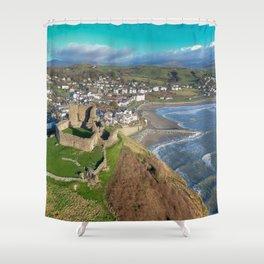 Criccieth Castle Shower Curtain