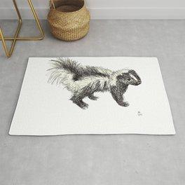 Woodland Creatures - Skunk Rug