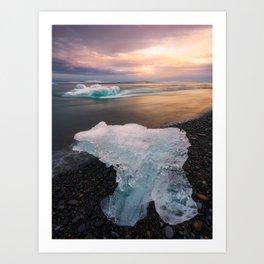 Iceland (RR 196) Art Print