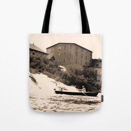 American Graphite Plant, Ticonderoga, NY 1930-42 Tote Bag