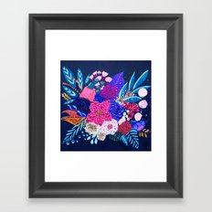 Jewel Bouquet Framed Art Print